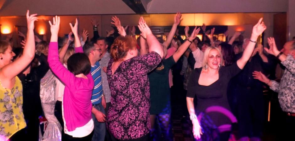 Soul Scene Dancers having fun at a Suffolk event