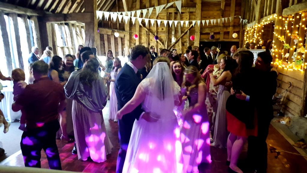 Dancing with the Bride & Groom
