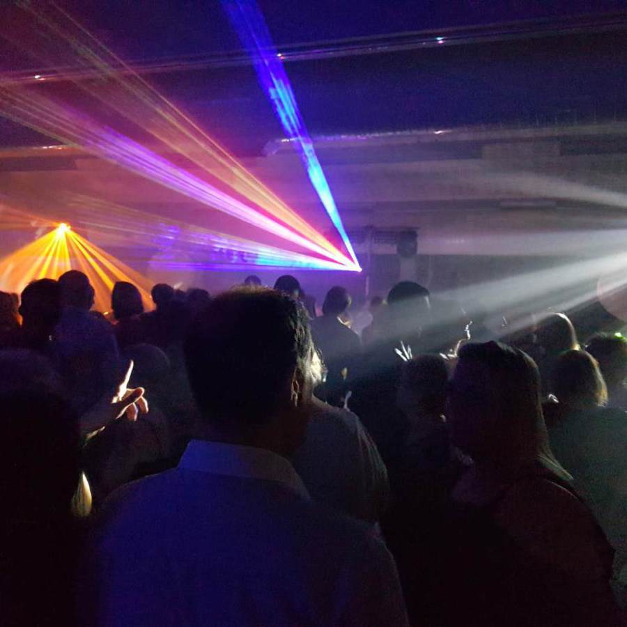 Lasers and Lighting at Soul Scene