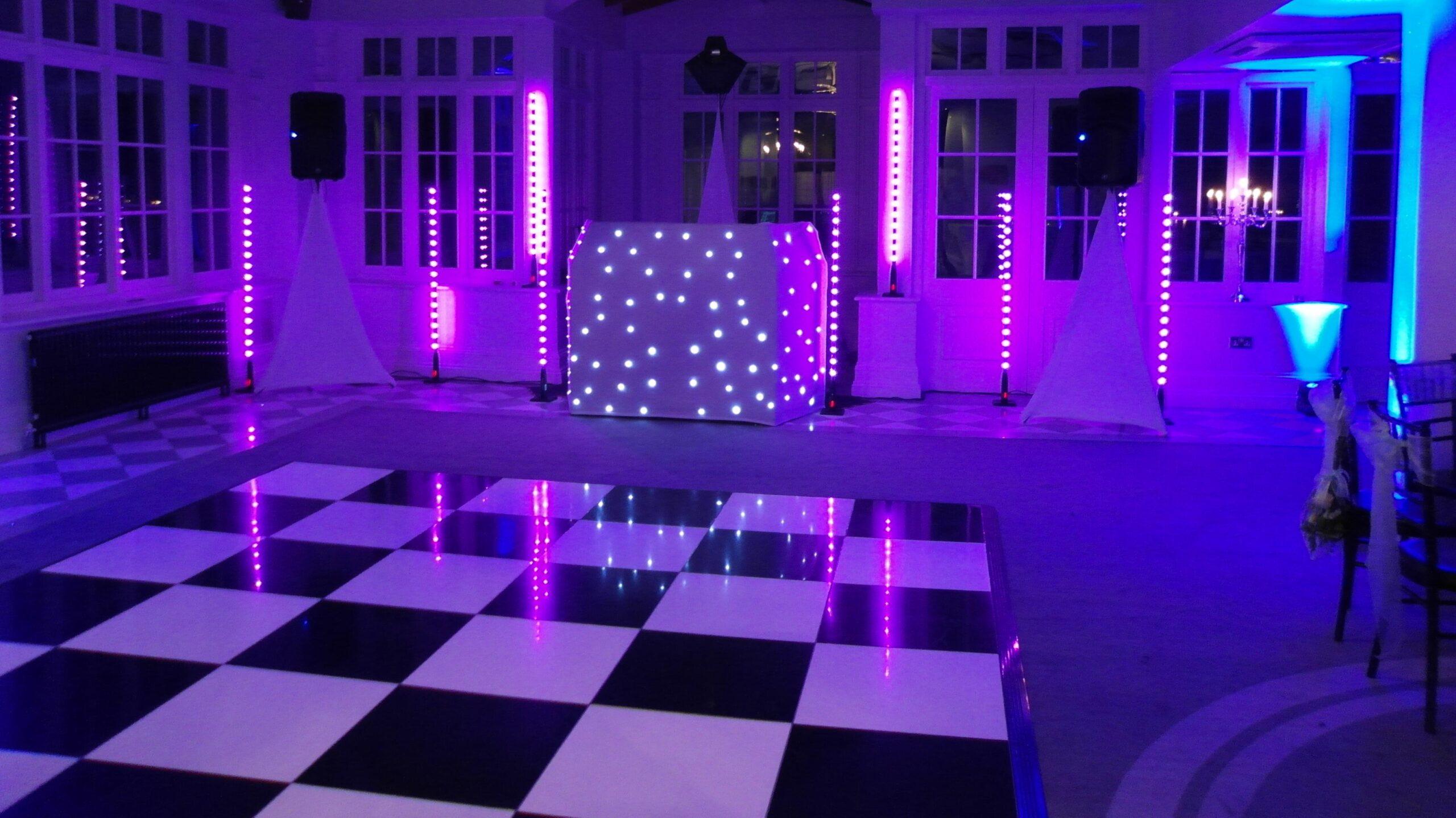 Swynford Manor Disco Set up