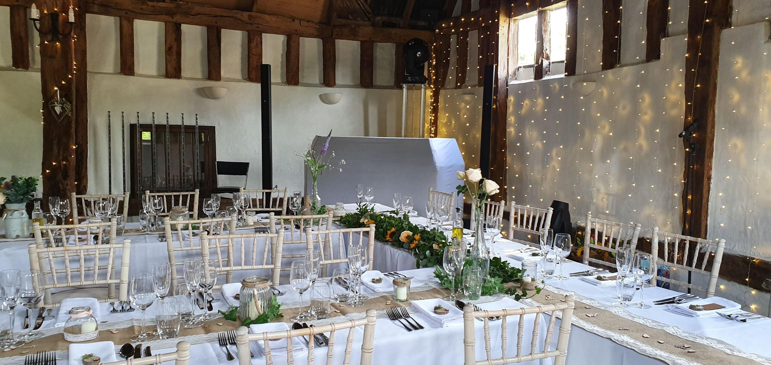 Smeetham Hall Barn Wedding Disco