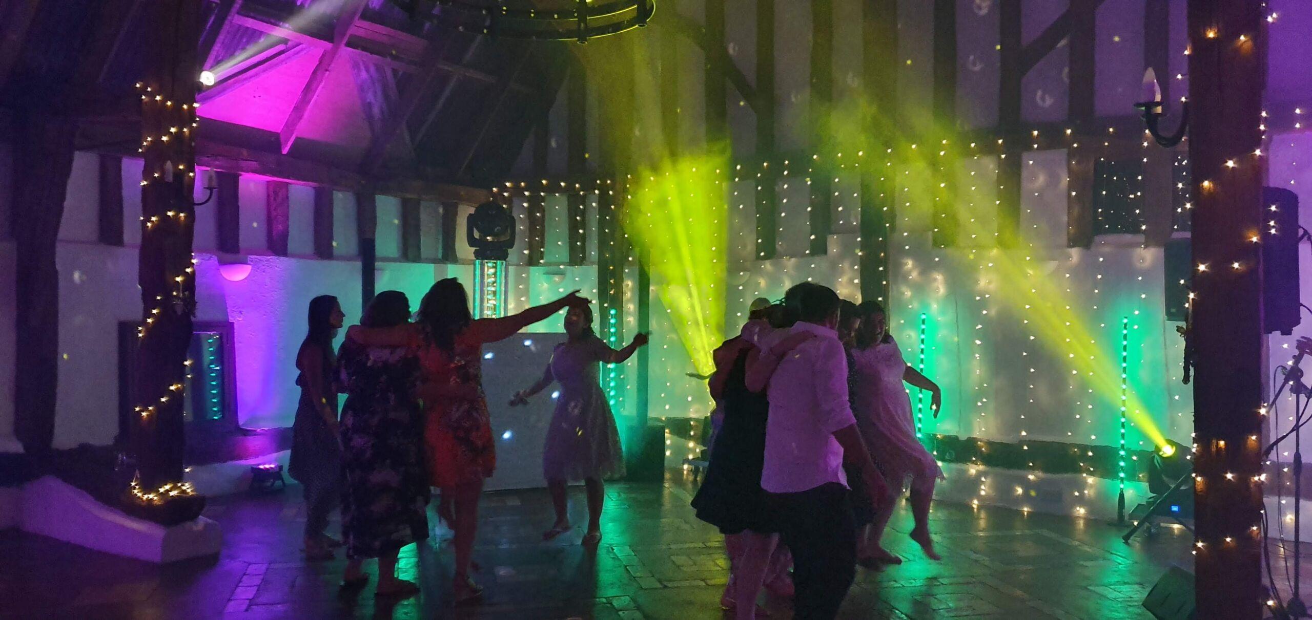 Mobile Disco for a Wedding at Smeetham Hall Barn Suffolk