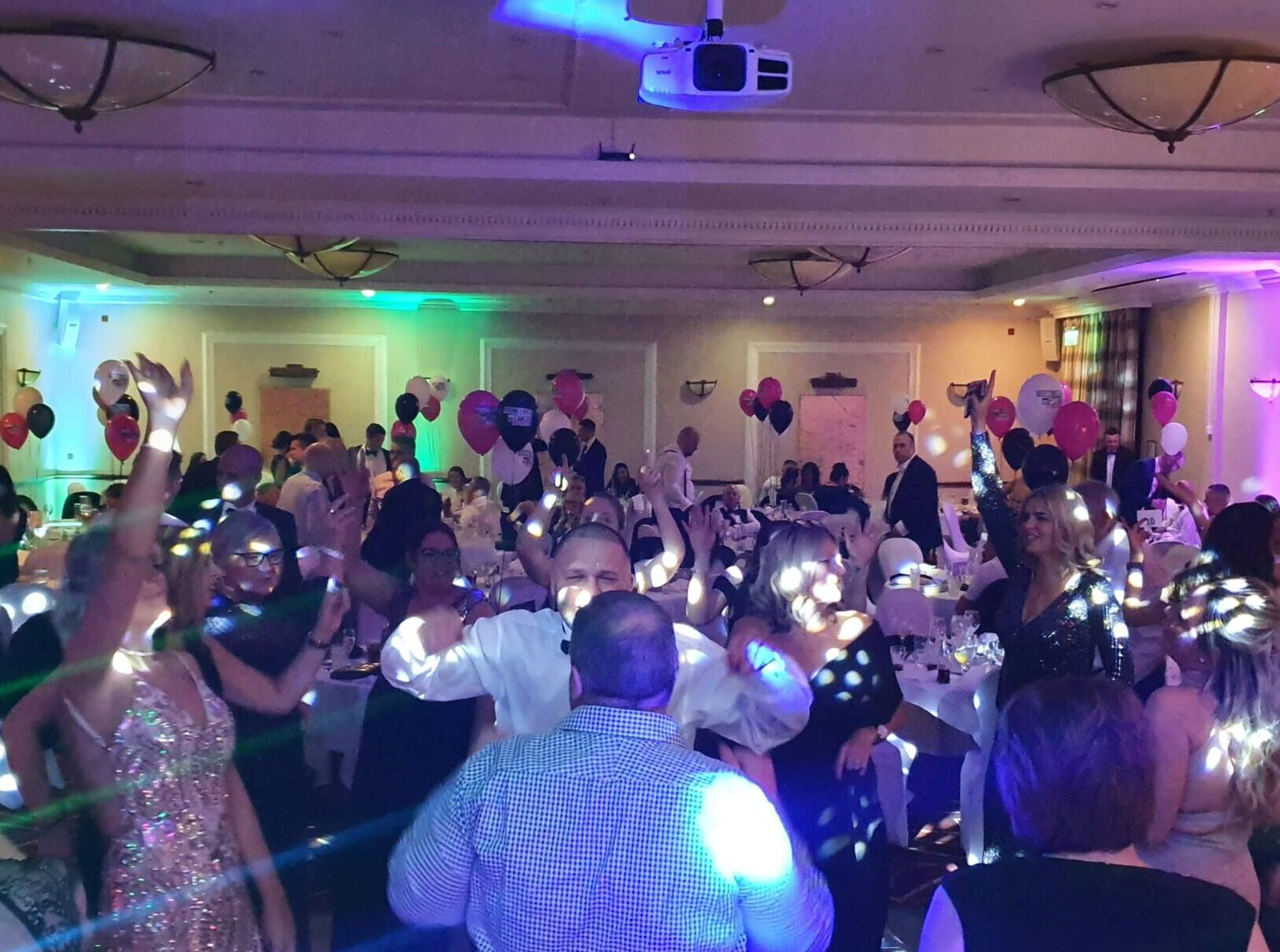 Mobile disco for party